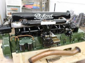 1923 packard goldcup engine 1 of only 6 made 4 are in running order 1 rainbow III  2 Ventnor Juno 3 Scotty II 4 Baby Skipalong