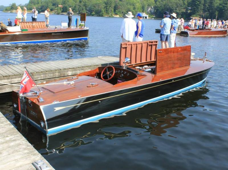 "1920 Morris boat works "" Flying Ebony"""