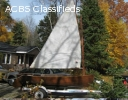 Cedar Strip Sailboat